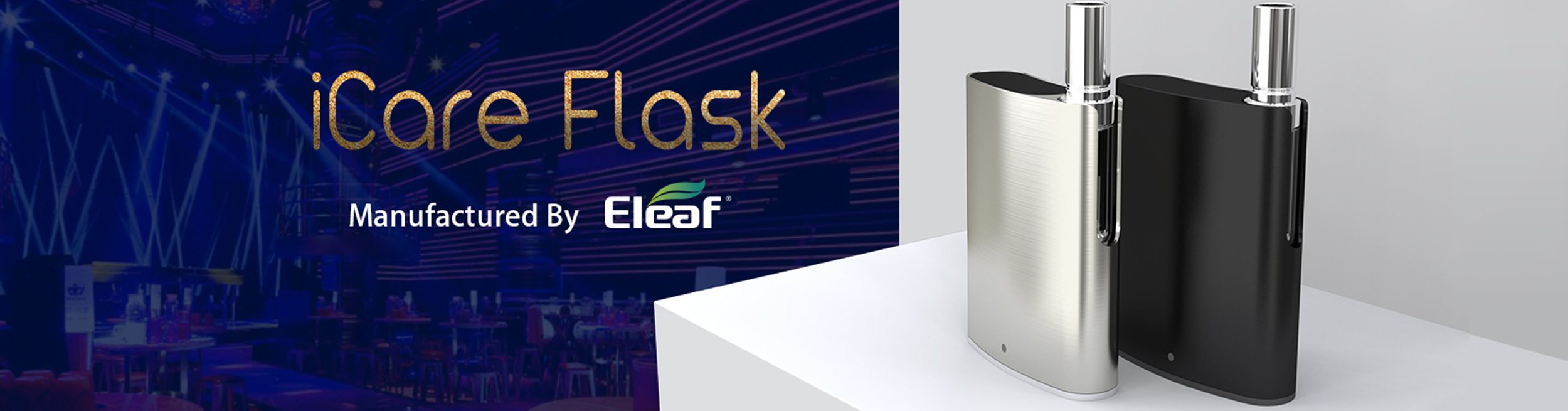 iSmoka-Eleaf iCare Flask Grip 520mAh